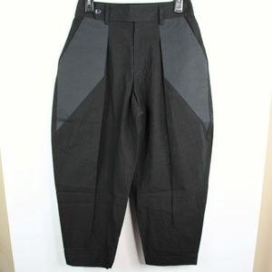 Issey Miyake Cropped Baggy Harem Drop Crotch Pants